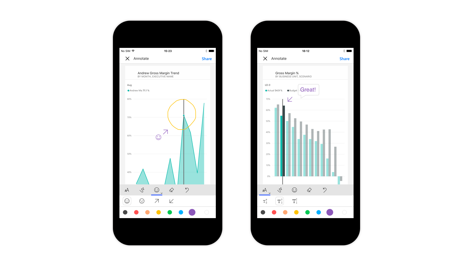 mobile | microsoft power bi