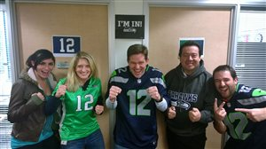 The Power BI Team in Seahawks spirit