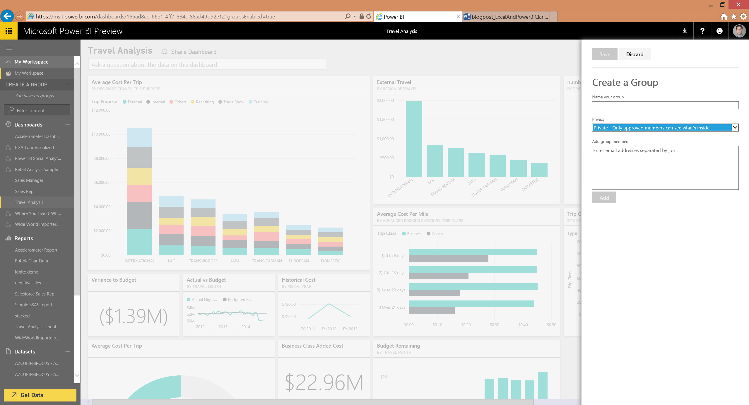 Announcing Power Bi General Availability Coming July 24th
