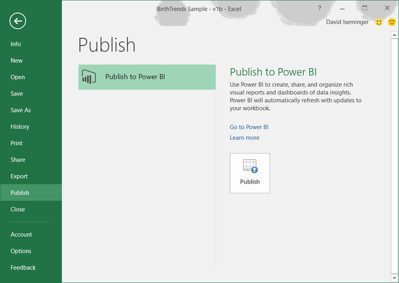 Ediblewildsus  Mesmerizing Publish To Power Bi From Excel   Microsoft Power Bi Blog  With Licious Excel Logs Into Power Bi With Your Current Account If You Have A Power Bi Account You Are Ready To Go If You Dont Have A Power Bi Account  With Agreeable Return On Investment Calculator Excel Also Microsoft Office Excel Portable In Addition Rank Excel  And Link Excel Workbooks As Well As Open Excel File Using Vba Additionally Power Map Preview For Excel  From Powerbimicrosoftcom With Ediblewildsus  Licious Publish To Power Bi From Excel   Microsoft Power Bi Blog  With Agreeable Excel Logs Into Power Bi With Your Current Account If You Have A Power Bi Account You Are Ready To Go If You Dont Have A Power Bi Account  And Mesmerizing Return On Investment Calculator Excel Also Microsoft Office Excel Portable In Addition Rank Excel  From Powerbimicrosoftcom