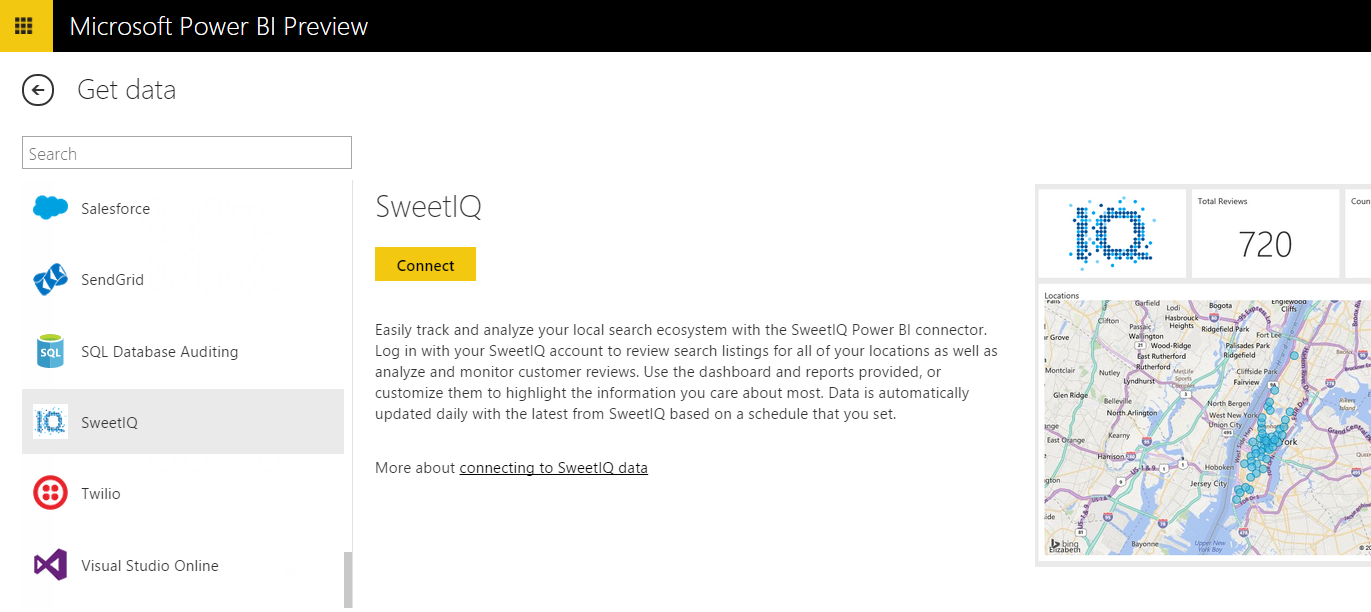 Analyze and Monitor your SweetIQ Data with Power BI | Microsoft ...
