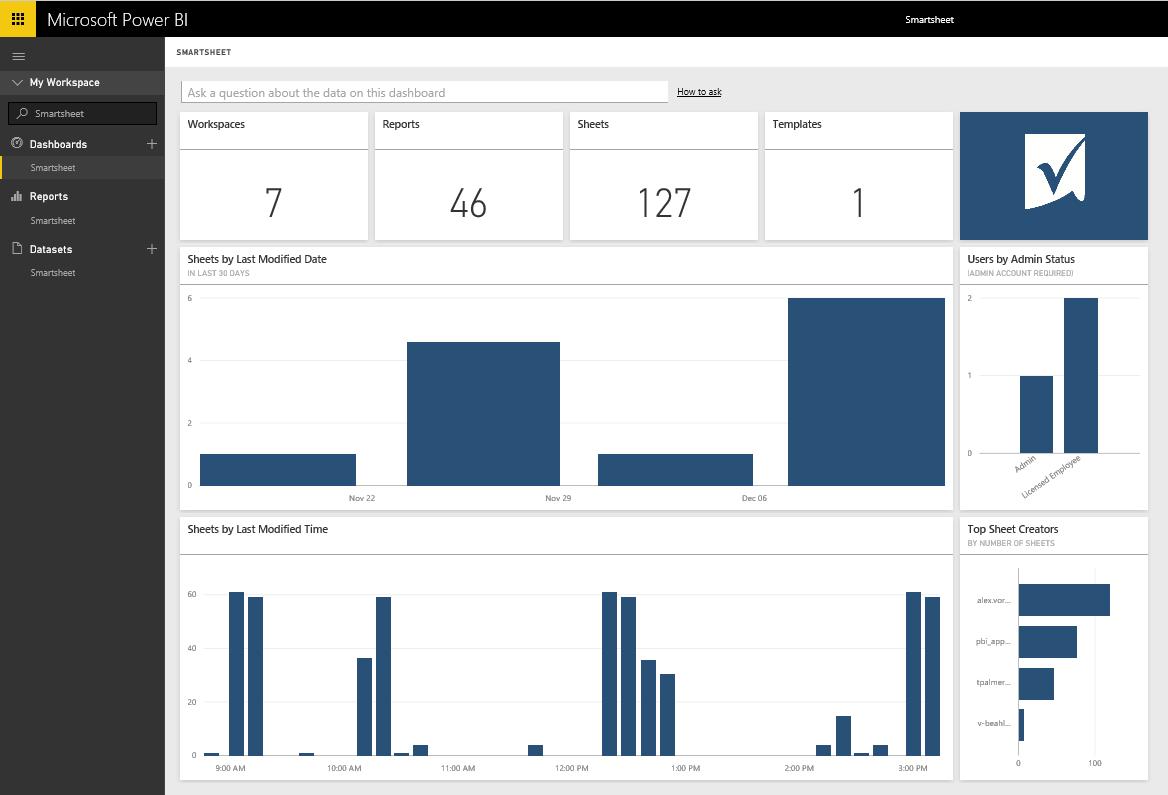 Visualize your Smartsheet data in Power BI | Microsoft Power