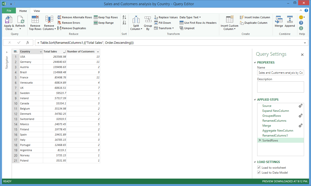 Workbooks shared workbook excel : Sharing and Discovering Queries Using Power Query and Power BI ...