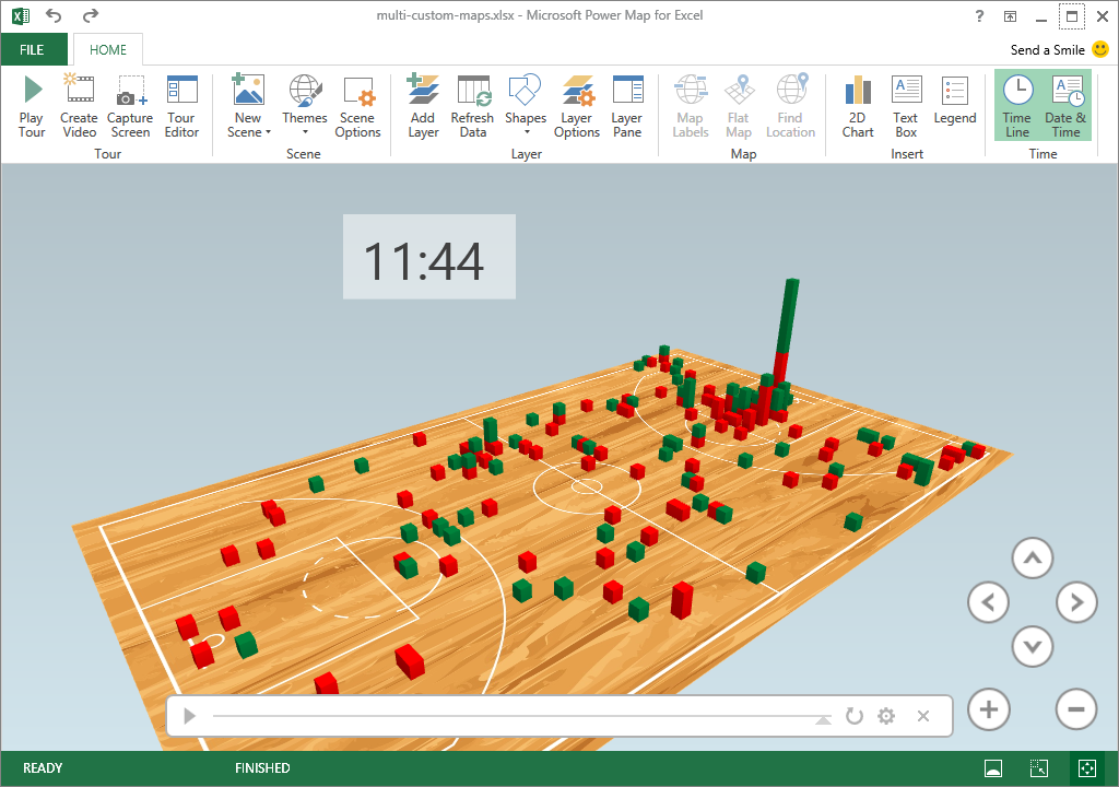 Excel Power Map October Update | Microsoft Power BI Blog | Microsoft ...
