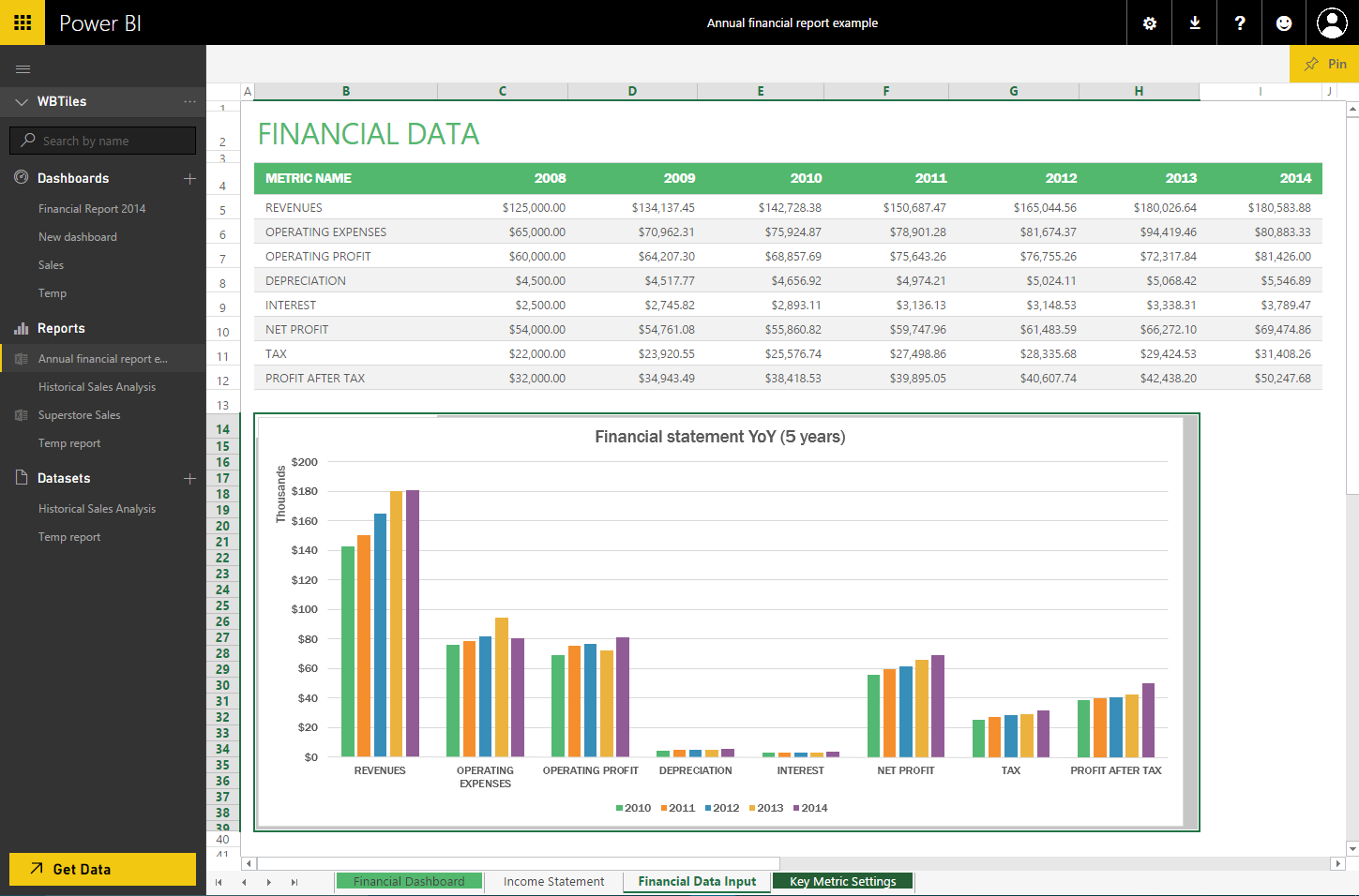 Workbooks microsoft excel workbooks : Pin a range from Excel to your dashboard! | Microsoft Power BI ...