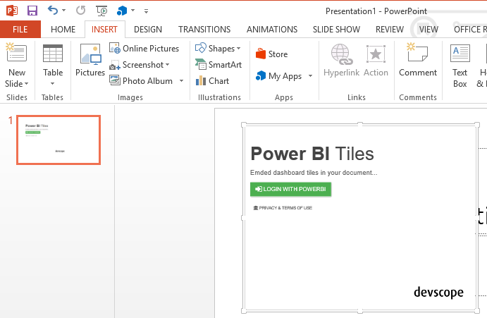 Integrating power bi tiles into office documents microsoft power 2 click at the login button and authenticate with your power bi credentials at the shown popup toneelgroepblik Image collections