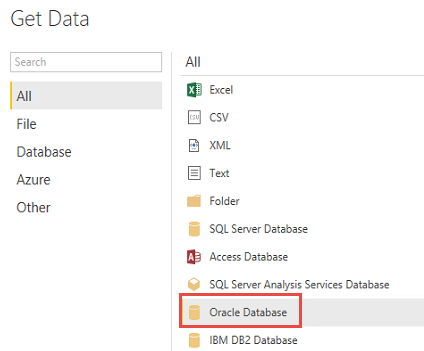 Publishing Oracle data to Power BI with Data Refresh | Microsoft