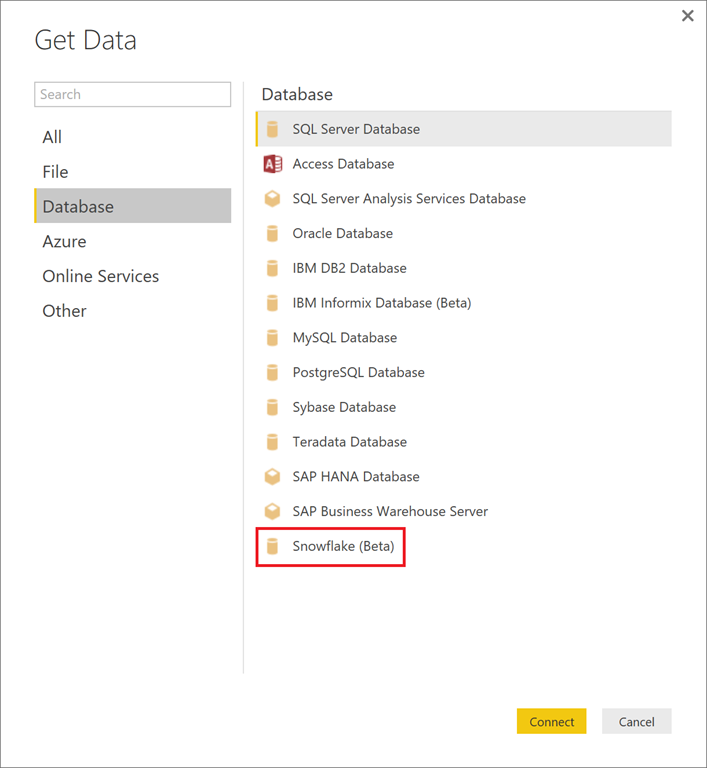 Power BI enables connectivity to Snowflake | Microsoft Power
