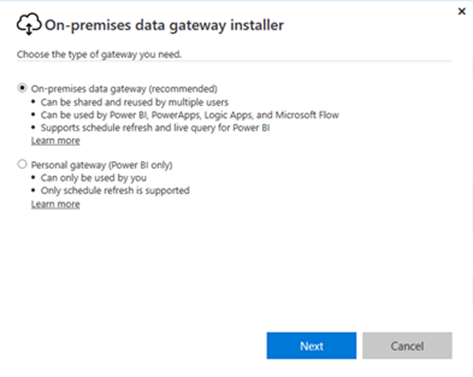 Gateways July update – going beyond Power BI | Microsoft