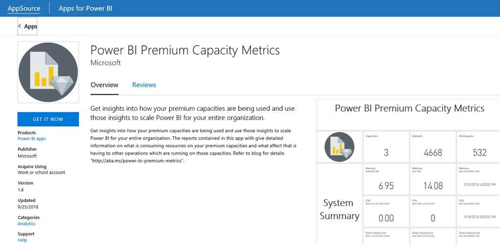 14d494fe b6f9 47f2 b015 797285381b91 Premium Capacity Metrics app – query metrics now available