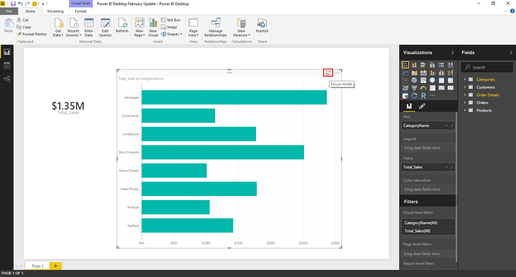 Power BI Update: Lots of new authoring features and a new Power BI
