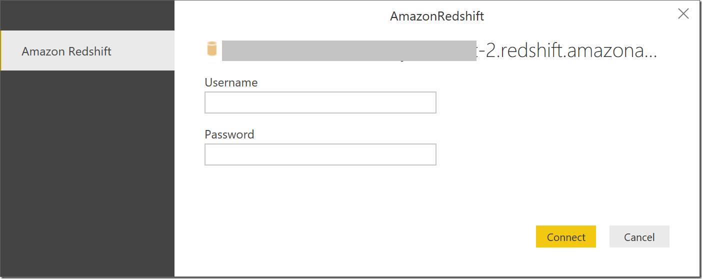 Announcing support for Amazon Redshift connectivity in the Power BI
