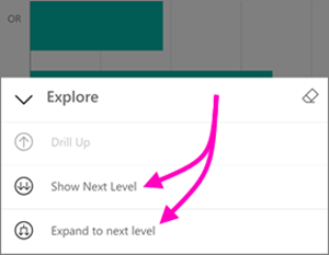 55432861 5f29 4ee0 bdfd df784d2949ed Drill Down & Up in Power BI Mobile apps