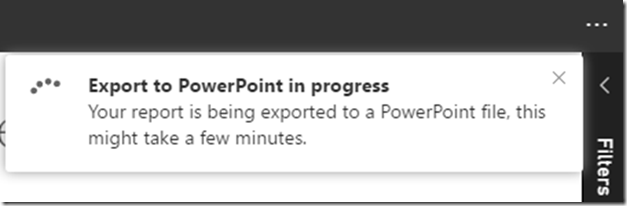 58eca942 f66c 4b47 b556 94502e1eb920 Export Power BI report to PowerPoint (Preview)