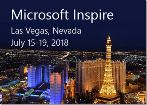 MicrosoftInspire2018-Event