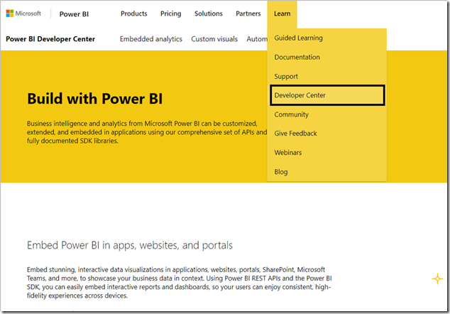 5ed508f4 9a6d 4cb0 a230 01f715205b6c Power BI Developer community July update