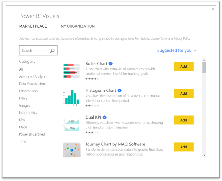 Image result for power bi marketplace