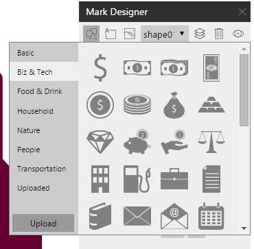 shapes mark designer