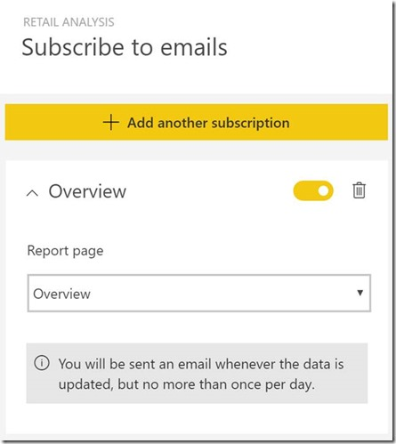 introducing email subscriptions in power bi stay informed when it