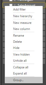 group right click menu 2