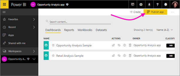 bc540334 475d 4b4a b48c 6d01865db89b Distribute to large audiences with Power BI apps