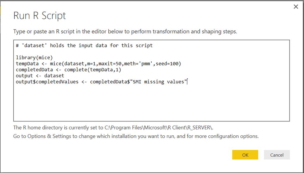Data Cleansing with R in Power BI   Microsoft Power BI Blog