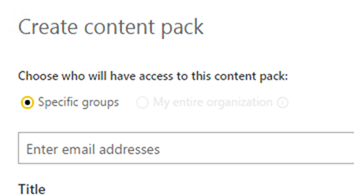 Publish to organization disabled