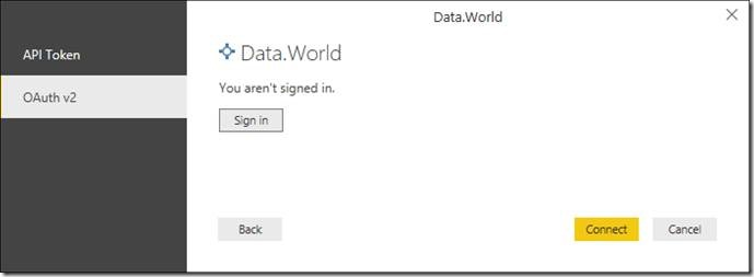 ddd26825 cc63 487c a291 7128defc879d Connect to tens of thousands of datasets on data.world with the new connector for Power BI Desktop (and join the webinar!)