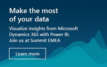 Find your data groove at Summit EMEA  | Microsoft Power BI Blog | Microsoft Power BI