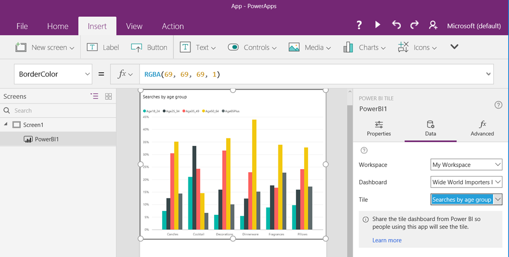 ee43a08e 5fa4 482e 9b87 188d3e4c6385 PowerApps and Power BI, together at last