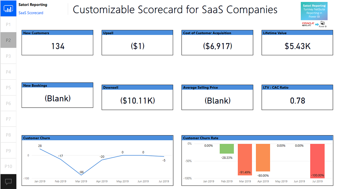 NetSuite Data via Satori Reporting